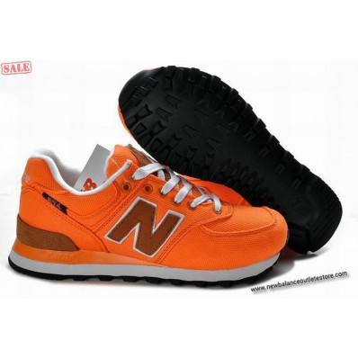 new balance arancioni
