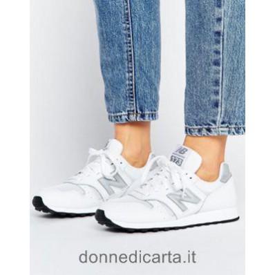 new balance donna bianco