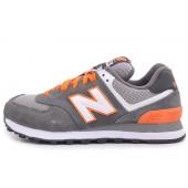 new balance scarpe uomo arancione