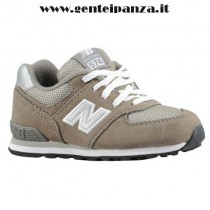new balance grigio ragazzo